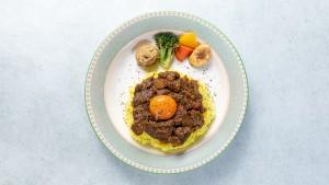 ゴロゴロ肉野菜卵旨キーマカレー